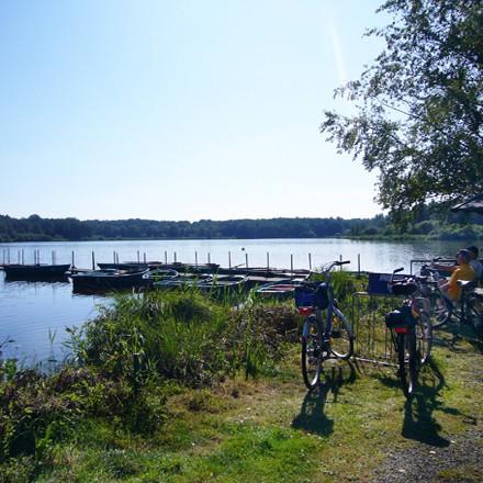 Urlaub auf dem Bauernhof am Niederrhein - Seenlandschaft am Niederrhein