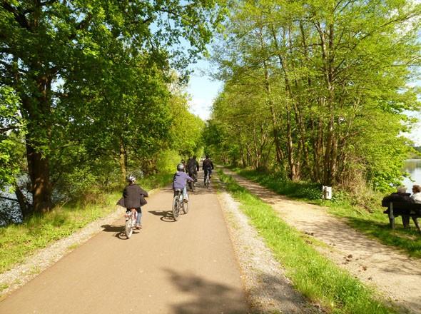 Bahntrassen - Freizeitrouten fuer die ganze Familie am Niederrhein