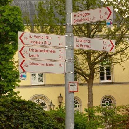 Flachshof Ferienwohnungen Nettetal - Radwandern in der deutsch-niederlaendischen Grenzregion nahe Venlo Tegelen