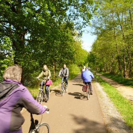 Radtouren und Radwandern am Niederrhein