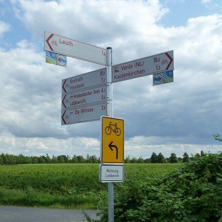 Bahntrassenradeln am Niederrhein