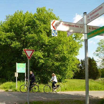 Radtouren am Niederrhein NiederRheinroute