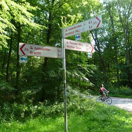 Radeln und Radwandern auf der NiederRheinroute - Urlaub in Nettetal