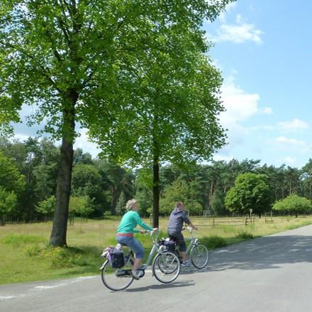 Wandern Radwandern Naturpark Schwalm-Nette - Radwandern auf ausgebauten Fahrradwegen