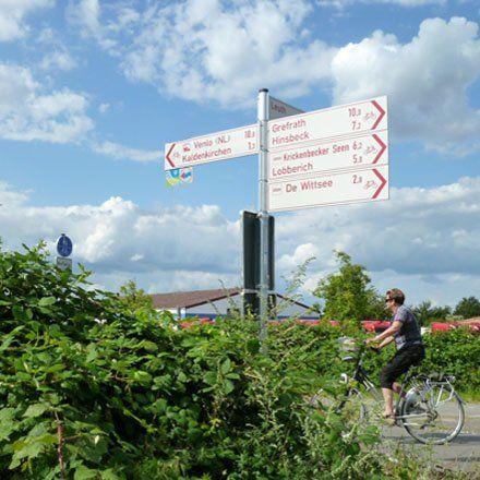 Bauernhofurlaub am Niederrhein - Raus aufs Land - Radeln am Niederrhein