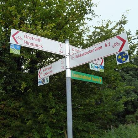 Radroutenplaner NRW - Radeln in der Region Niederrhein auf Deutschlands groesstem Radwegenetz