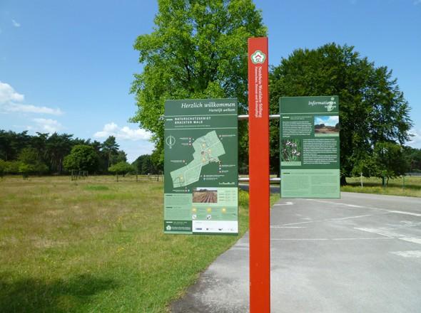Urlaub in der Region Brueggen Nettetal - Wandern Radwandern im Naturschutzgebiet Brachter Wald