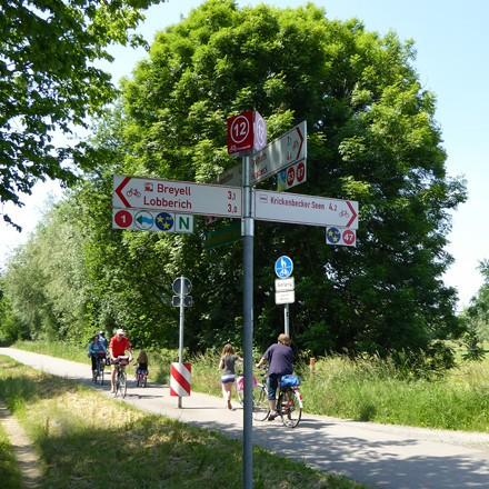 2-Länder-Route - Radwanderweg von Aachen nach Nijmegen