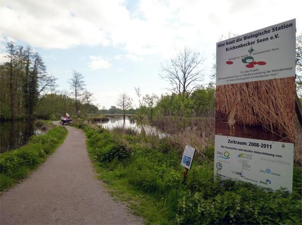 Naturschutzgebiet Krickenbecker Seen - Flachshof Nettetal