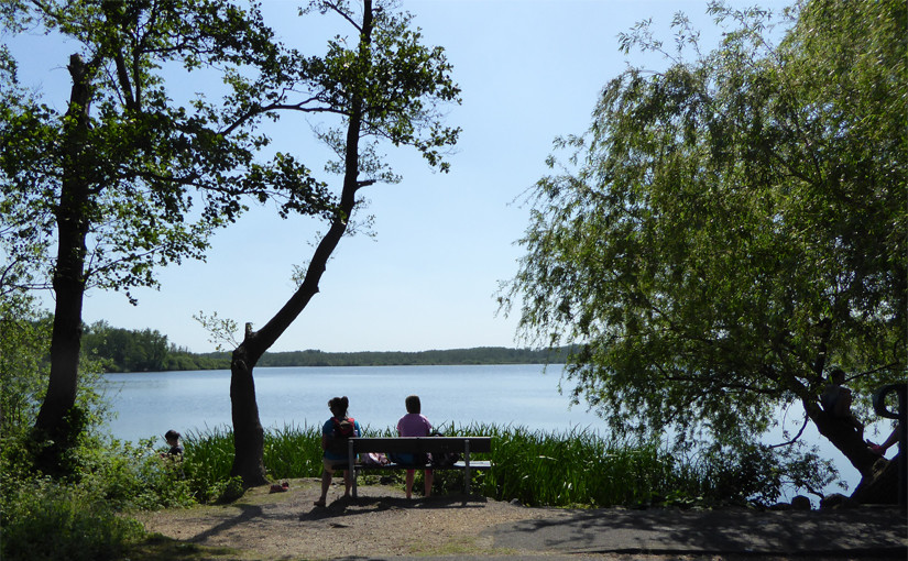 Wanderwege am Niederrhein - Krickenbecker Seen Nettetal