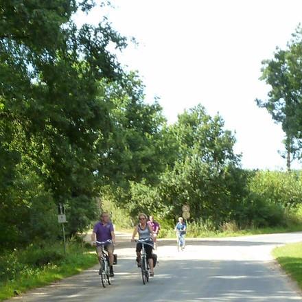 Urlaub mit dem Fahrrad am Niederrhein NRW - Radfahren - Radwandern - Radeln