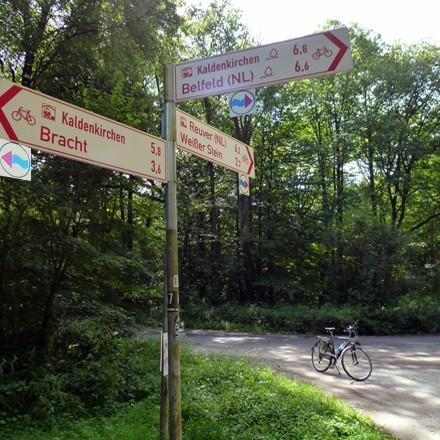 Radfahren - Fahrradfahren - Radeln - Radwandern im Urlaubseldorado für Radfahrer am Niederrhein