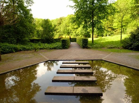 Geo-hydrologischer Wassergarten im Grenzwald Kaldenkirchen