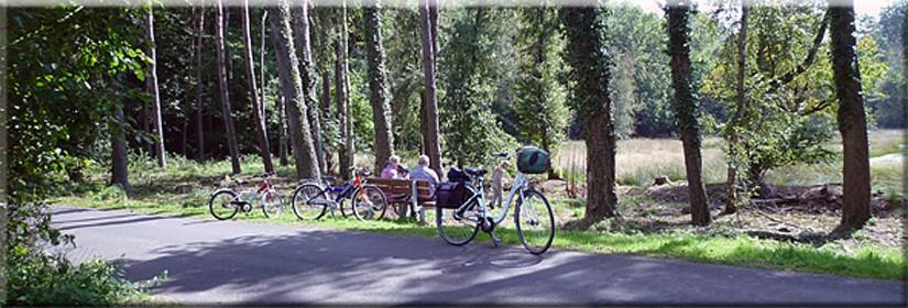Freizeitregon Niederrhein - Radwandern im Urlaub