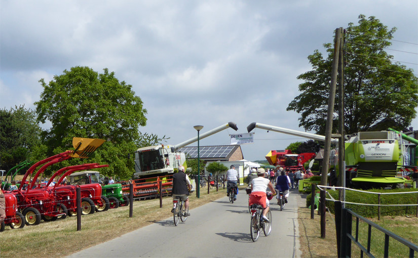 Landwirtschaft zum Anfassen - Höfetour 2015 Nettetal Kreis Viersen