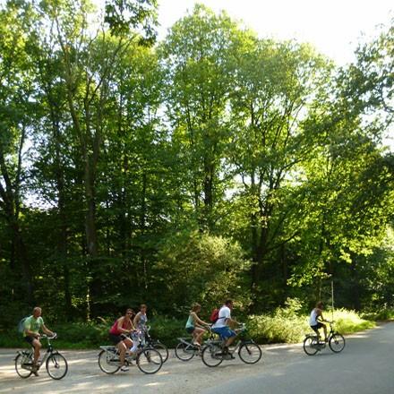 Radeln auf der Herrensitz-Route