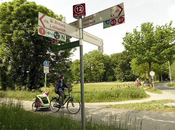 Radeln Radwandern am Niederrhein Kreis Viersen › Ferienwohnung in Nettetal