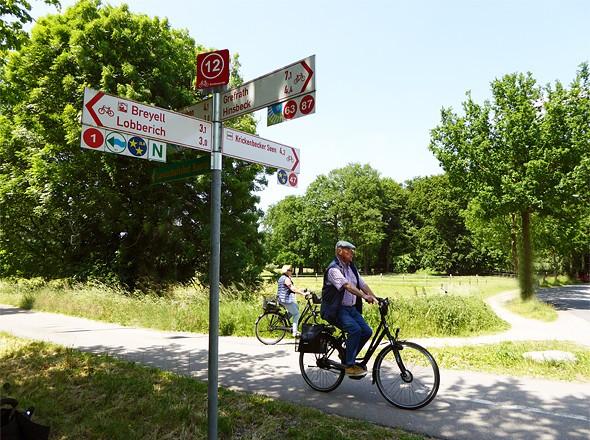 Radeln nach Zahlen Kreis Viersen Niederrhein