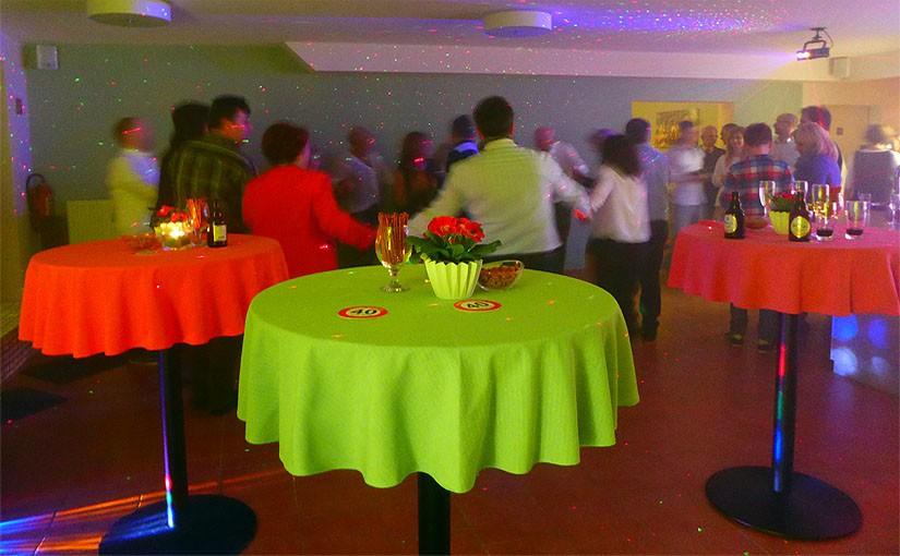 Feiern mit Freunden in der Bauernstube auf dem Flachshof Nettetal Niederrhein NRW
