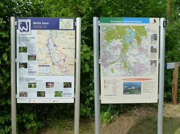 Premium Wanderweg Nette Seen