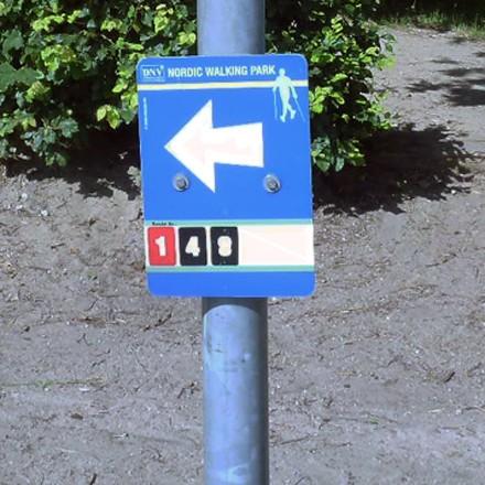 Freizeit am Niederrhein - Nordic Walking in Niederkrüchten Elmpt