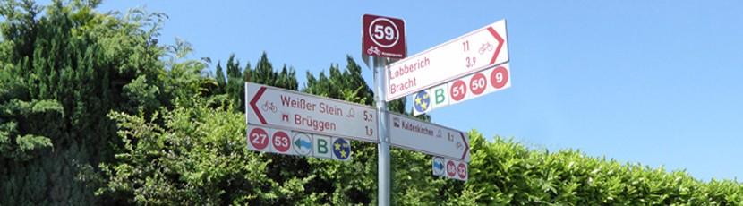 Radeln nach Zahlen am Niederrhein in der Radelregion Schwalm-Nette Kreis Viersen