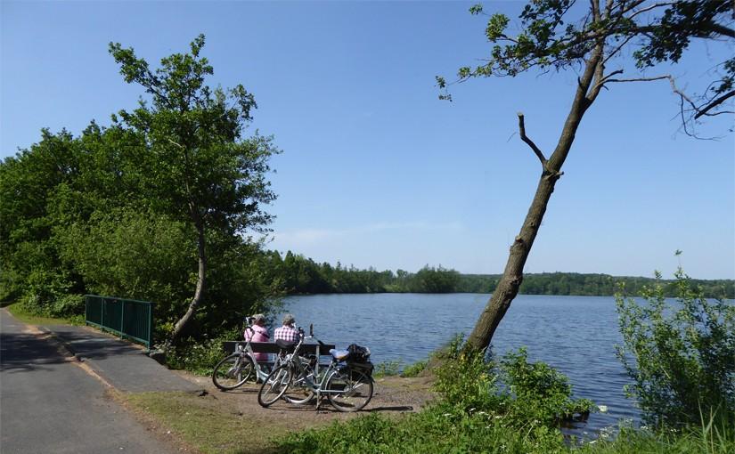 Wandern Radwandern im Naturschutzgebiet Krickenbecker Seen Nettetal Niederrhein